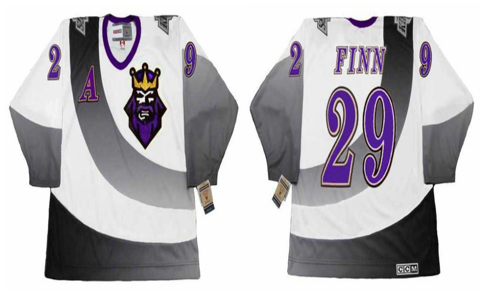 2019 Men Los Angeles Kings 29 Finn White CCM NHL jerseys