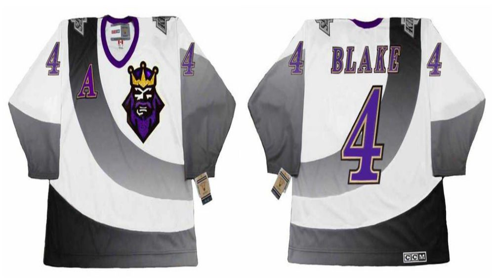 2019 Men Los Angeles Kings 4 Blake White CCM NHL jerseys