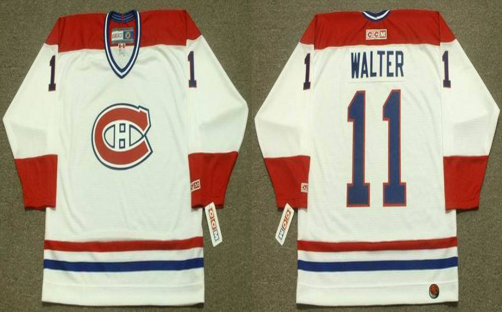 2019 Men Montreal Canadiens 11 Walter White CCM NHL jerseys