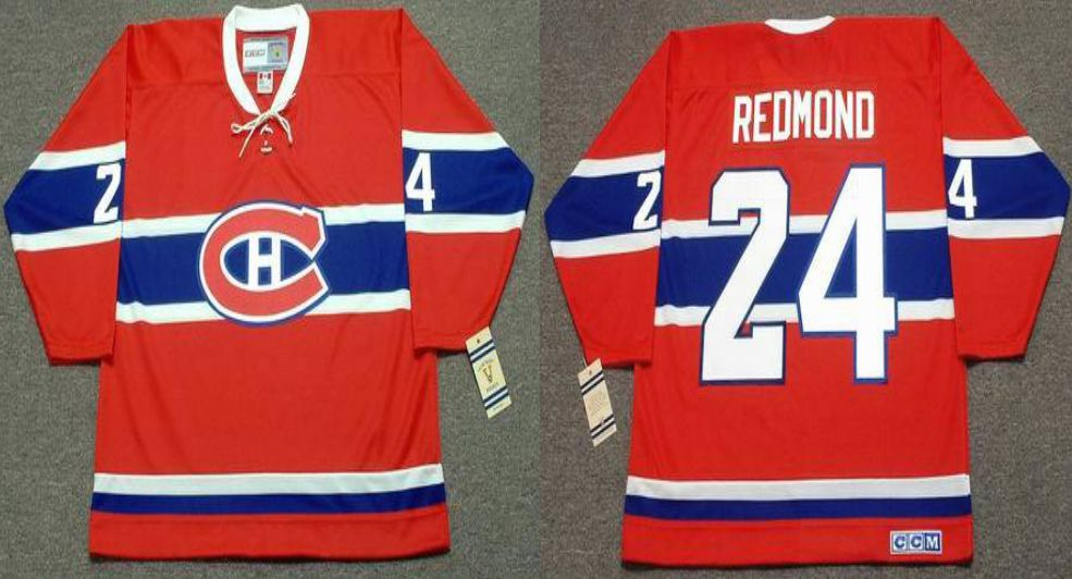 2019 Men Montreal Canadiens 24 Redmond Red CCM NHL jerseys