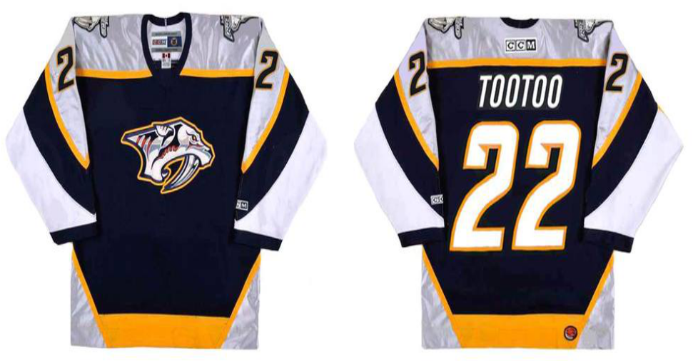 2019 Men Nashville Predators 22 TOOTOO black CCM NHL jerseys