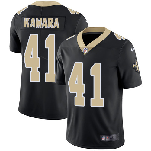 2019 Men New Orleans Saints 41 Kamara black Nike Vapor Untouchable Limited NFL Jersey