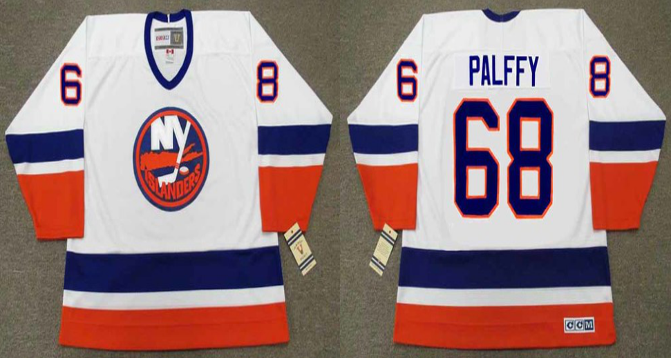2019 Men New York Islanders 68 Palffy white CCM NHL jersey