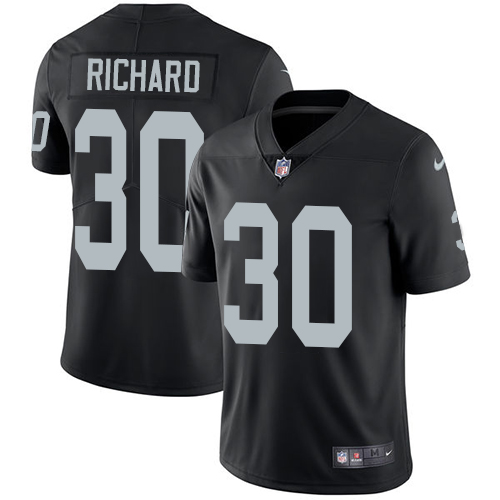2019 Men Oakland Raiders 30 Richard black Nike Vapor Untouchable Limited NFL Jersey