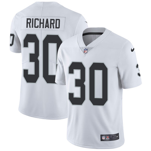 2019 Men Oakland Raiders 30 Richard white Nike Vapor Untouchable Limited NFL Jersey