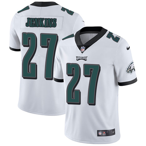 2019 Men Philadelphia Eagles 27 Jenkins white Nike Vapor Untouchable Limited NFL Jersey