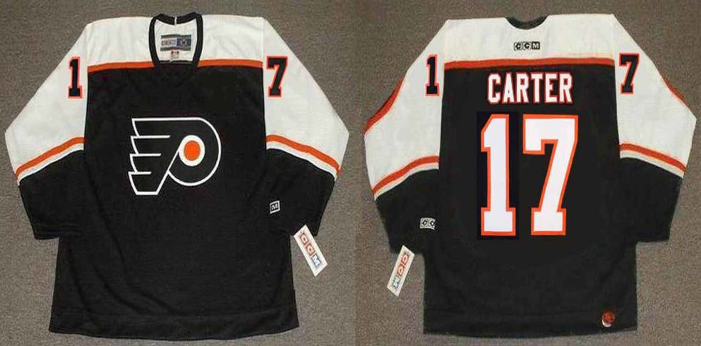 2019 Men Philadelphia Flyers 17 Carter Black CCM NHL jerseys