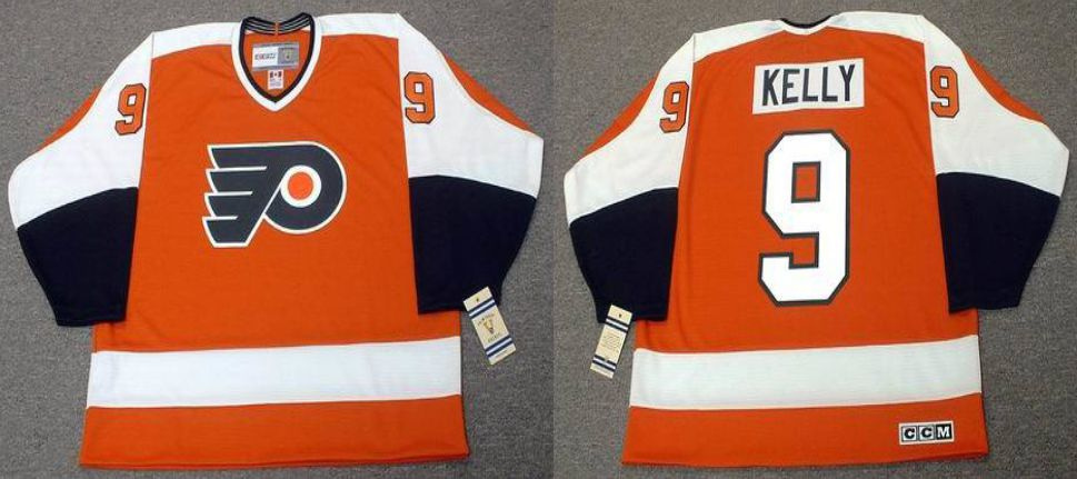 2019 Men Philadelphia Flyers 9 Kelly Orange CCM NHL jerseys