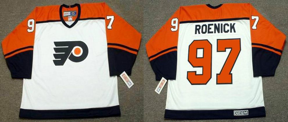 2019 Men Philadelphia Flyers 97 Roenick White CCM NHL jerseys