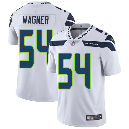 2019 Men Seattle Seahawks 54 Wagner white Nike Vapor Untouchable Limited NFL Jersey