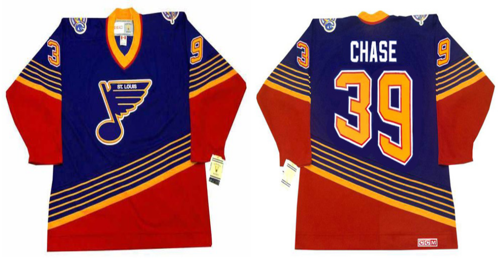 2019 Men St.Louis Blues 39 Chase blue style 2 CCM NHL jerseys