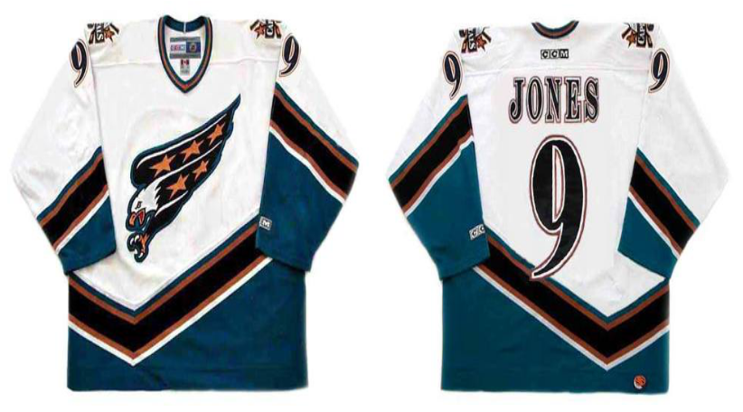 2019 Men Washington Capitals 9 Jones white CCM NHL jerseys