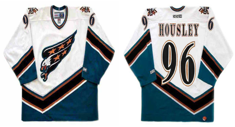 2019 Men Washington Capitals 96 Housley white CCM NHL jerseys