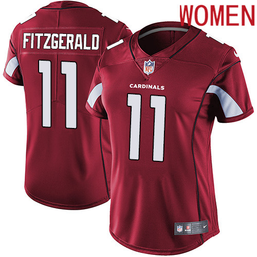 2019 Women Arizona Cardinals 11 Fitzgerald red Nike Vapor Untouchable Limited NFL Jersey