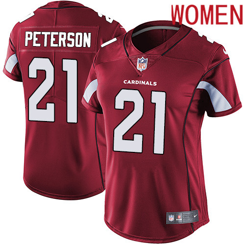 2019 Women Arizona Cardinals 21 Peterson red Nike Vapor Untouchable Limited NFL Jersey