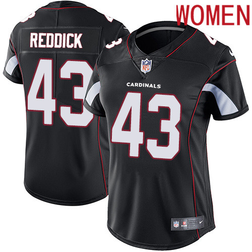 2019 Women Arizona Cardinals 43 Reddick black Nike Vapor Untouchable Limited NFL Jersey
