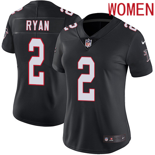 2019 Women Atlanta Falcons 2 Ryan black Nike Vapor Untouchable Limited NFL Jersey