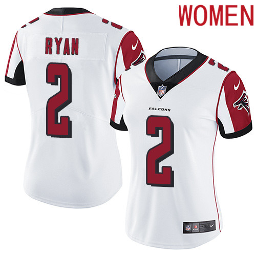 2019 Women Atlanta Falcons 2 Ryan white Nike Vapor Untouchable Limited NFL Jersey