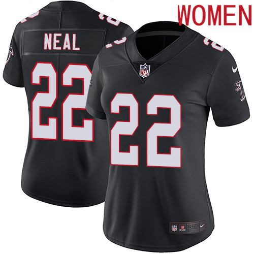2019 Women Atlanta Falcons 22 Neal black Nike Vapor Untouchable Limited NFL Jersey