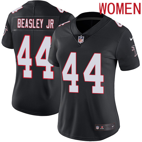 2019 Women Atlanta Falcons 44 Beasley Jr black Nike Vapor Untouchable Limited NFL Jersey