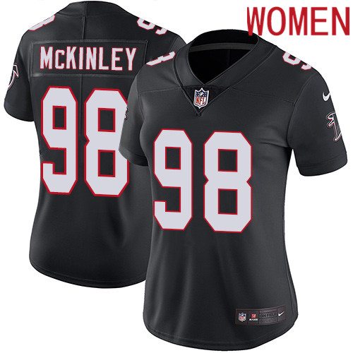 2019 Women Atlanta Falcons 98 McKinley black Nike Vapor Untouchable Limited NFL Jersey
