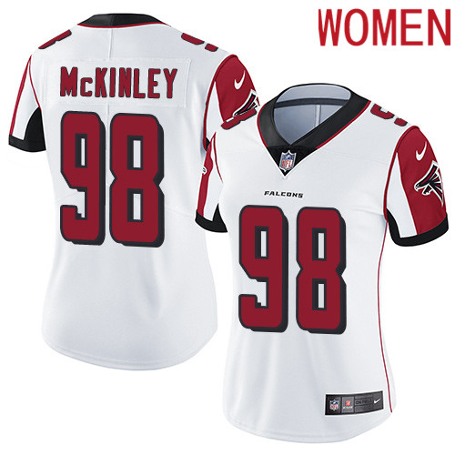 2019 Women Atlanta Falcons 98 McKinley white Nike Vapor Untouchable Limited NFL Jersey