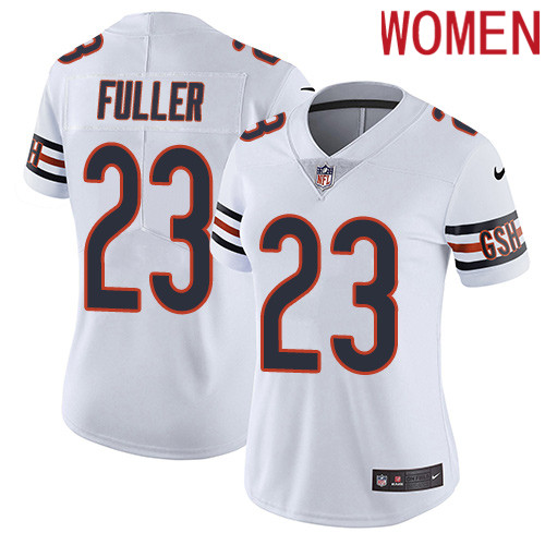 2019 Women Chicago Bears 23 Fuller white Nike Vapor Untouchable Limited NFL Jersey