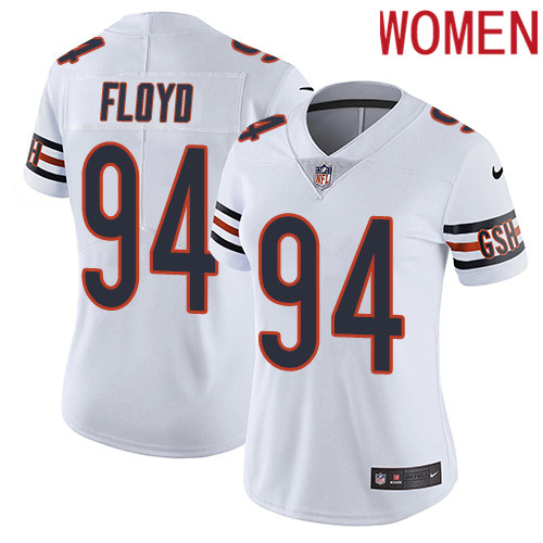 2019 Women Chicago Bears 94 Floyd white Nike Vapor Untouchable Limited NFL Jersey