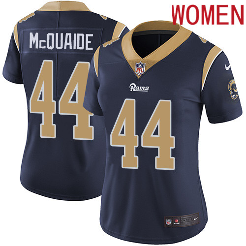 2019 Women Los Angeles Rams 44 McQuaide dark blue Nike Vapor Untouchable Limited NFL Jersey