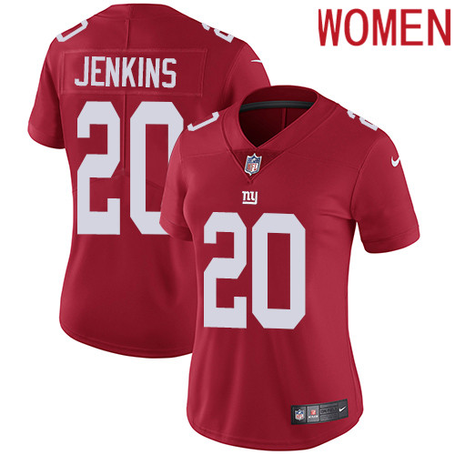 2019 Women New York Giants 20 Jenkins red Nike Vapor Untouchable Limited NFL Jersey