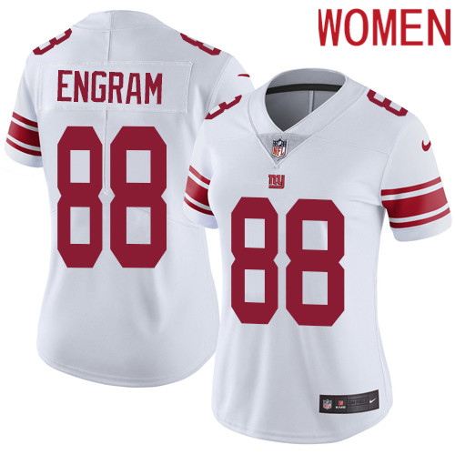 2019 Women New York Giants 88 Engram white Nike Vapor Untouchable Limited NFL Jersey