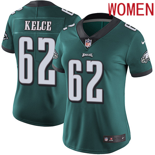 2019 Women Philadelphia Eagles 65 Johnson green Nike Vapor Untouchable Limited NFL Jersey