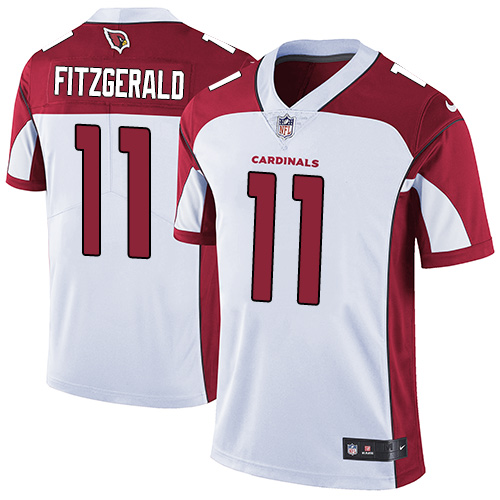 2019 men Arizona Cardinals 11 Fitzgerald white Nike Vapor Untouchable Limited NFL Jersey