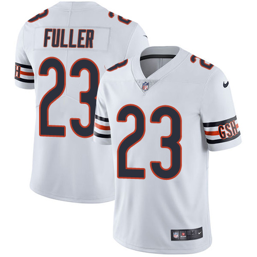2019 men Chicago Bears 23 Fuller white Nike Vapor Untouchable Limited NFL Jersey