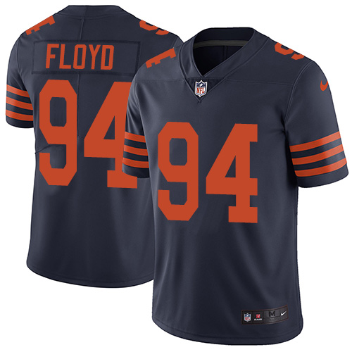 2019 men Chicago Bears 94 Floyd blue Nike Vapor Untouchable Limited NFL Jersey style 2