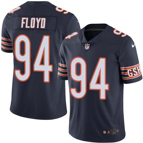 2019 men Chicago Bears 94 Floyd blue Nike Vapor Untouchable Limited NFL Jersey
