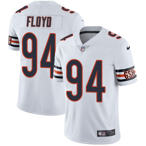 2019 men Chicago Bears 94 Floyd white Nike Vapor Untouchable Limited NFL Jersey