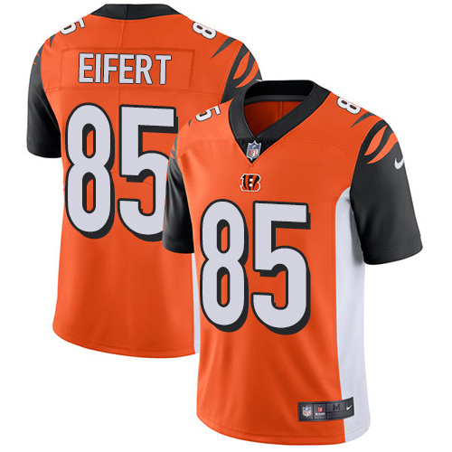 2019 men Cincinnati Bengals 85 Eifert Orange Nike Vapor Untouchable Limited NFL Jersey