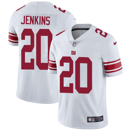 2019 men New York Giants 20 Jenkins white Nike Vapor Untouchable Limited NFL Jersey