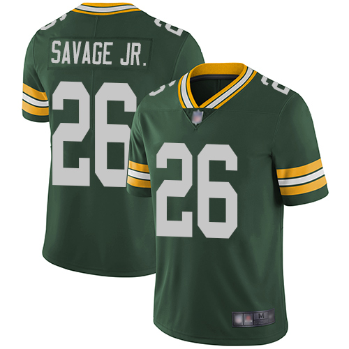 Men Green Bay Packers 26 Darnell Savage Jr Green Limited Vapor Untouchable nfl jersey