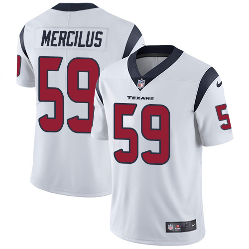 Men Houston Texans 59 Mercilus white Nike Vapor Untouchable Limited NFL Jersey