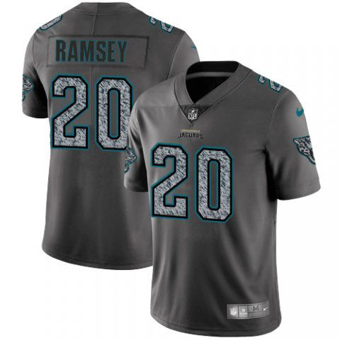 Men Jacksonville Jaguars 20 Ramsey Nike Teams Gray Fashion Static Limited NFL Jerseys