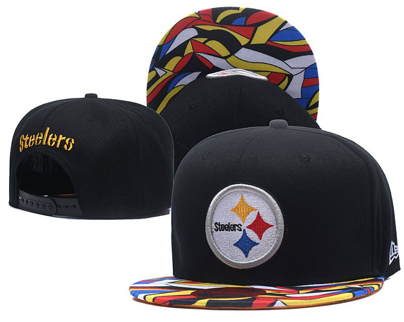 NFL Pittsburgh Steelers Snapback hat LTMY09062