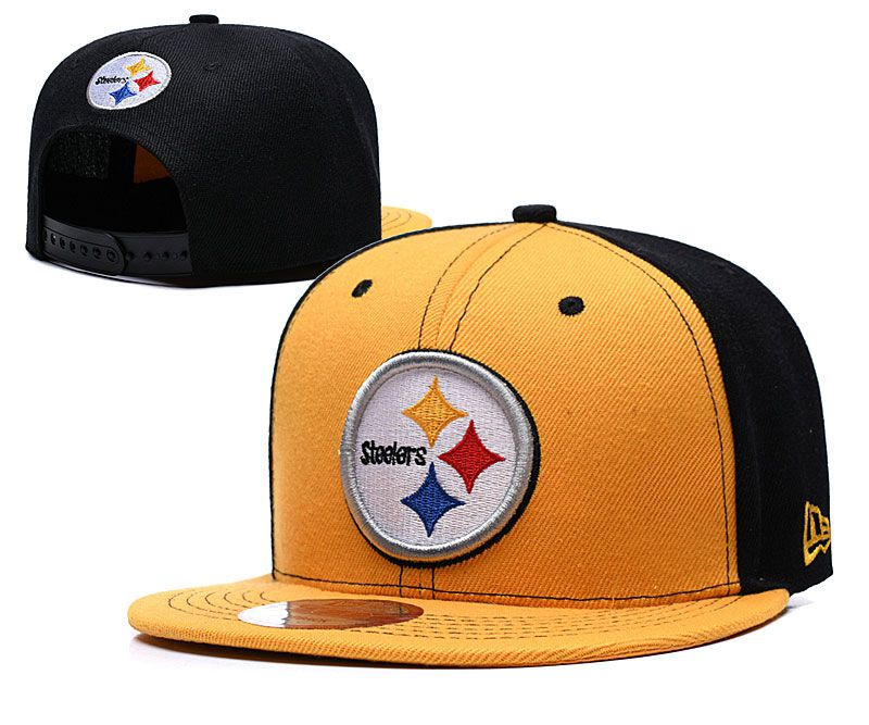 NFL Pittsburgh Steelers Snapback hat LTMY09063