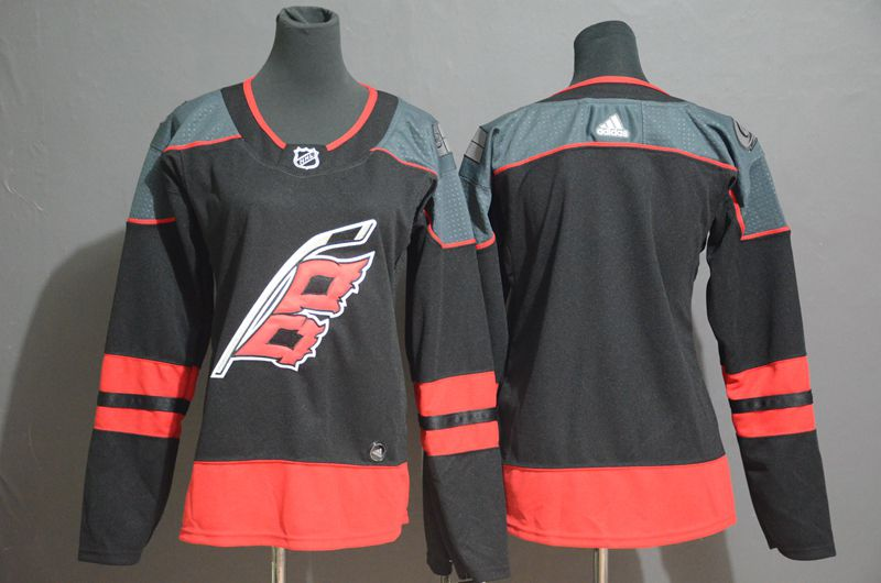 Women Carolina Hurricanes Blank black Adidas Third Edition Adult NHL Jersey