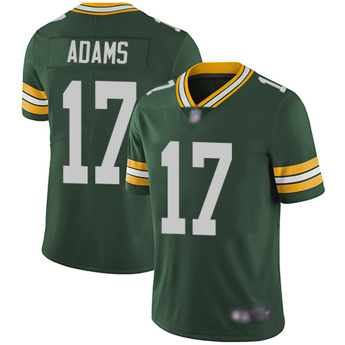 Green Bay Packers Limited Green Men 17 Adams Davante Home Jersey Nike NFL Vapor Untouchable