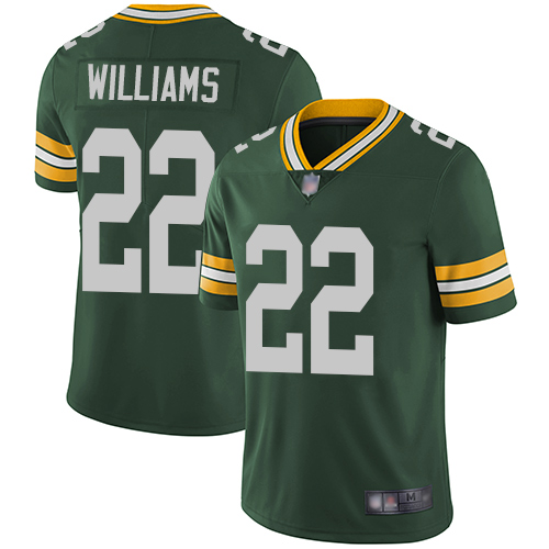 Green Bay Packers Limited Green Men 22 Williams Dexter Home Jersey Nike NFL Vapor Untouchable