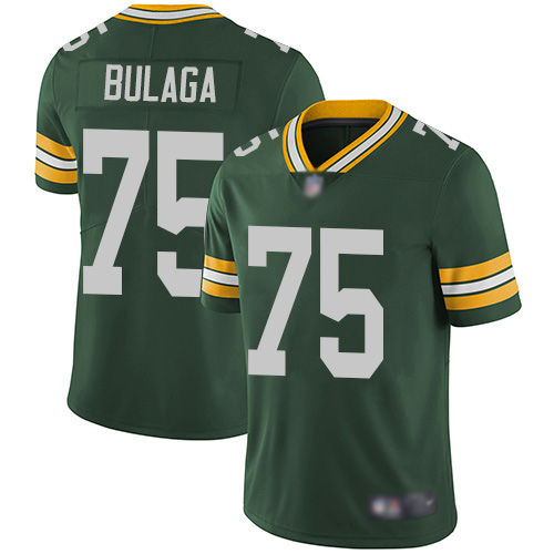 Green Bay Packers Limited Green Men 75 Bulaga Bryan Home Jersey Nike NFL Vapor Untouchable