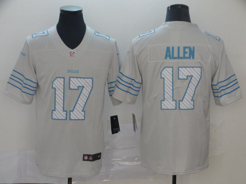 Men Buffalo Bills 17 Allen White Nike Limited city edition NFL Jerseys