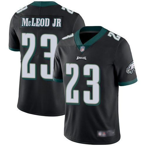 Wholesale Men Philadelphia Eagles 23 Rodney McLeod Black Alternate Vapor Untouchable NFL Jersey Limited Player